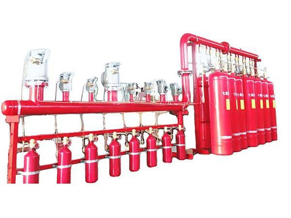 七氟丙烷灭火设备(管网式4.2Mpa)